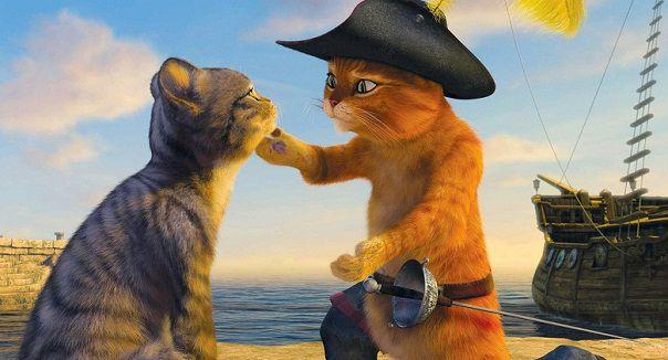 Кот в сапогах секс видео