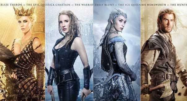 The Huntsman Winter's War 3 films