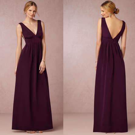 Выпускные платья с вырезом на груди