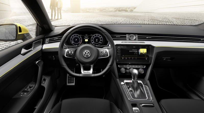 Салон VW Arteon 2017