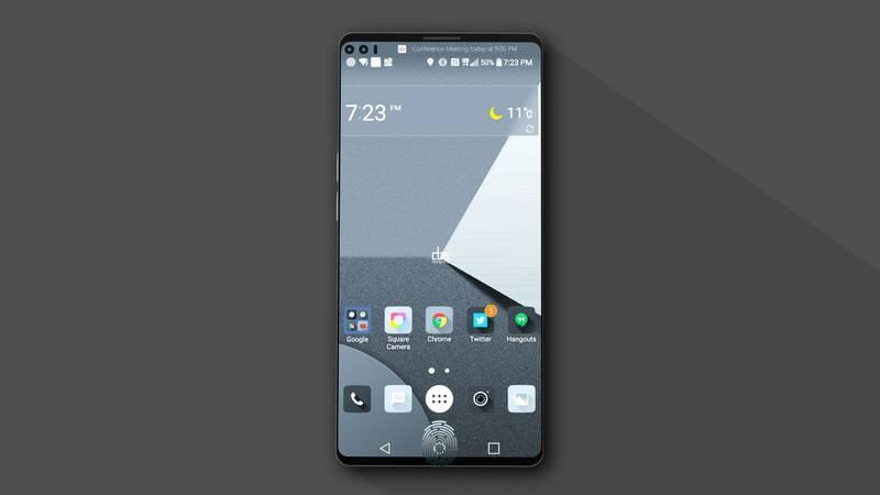 Концепт LG V30