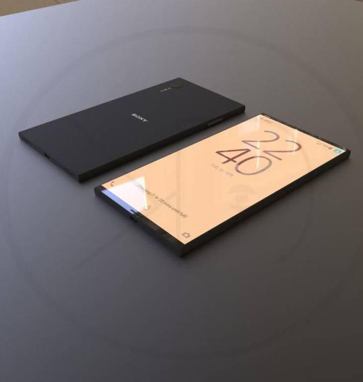 Концепт Sony Xperia XZ1