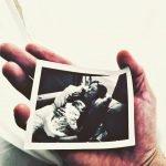 Трогательные фото жены и дочери