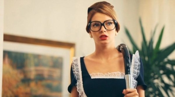 Наталья Бардо в роли настойчивой актрисы