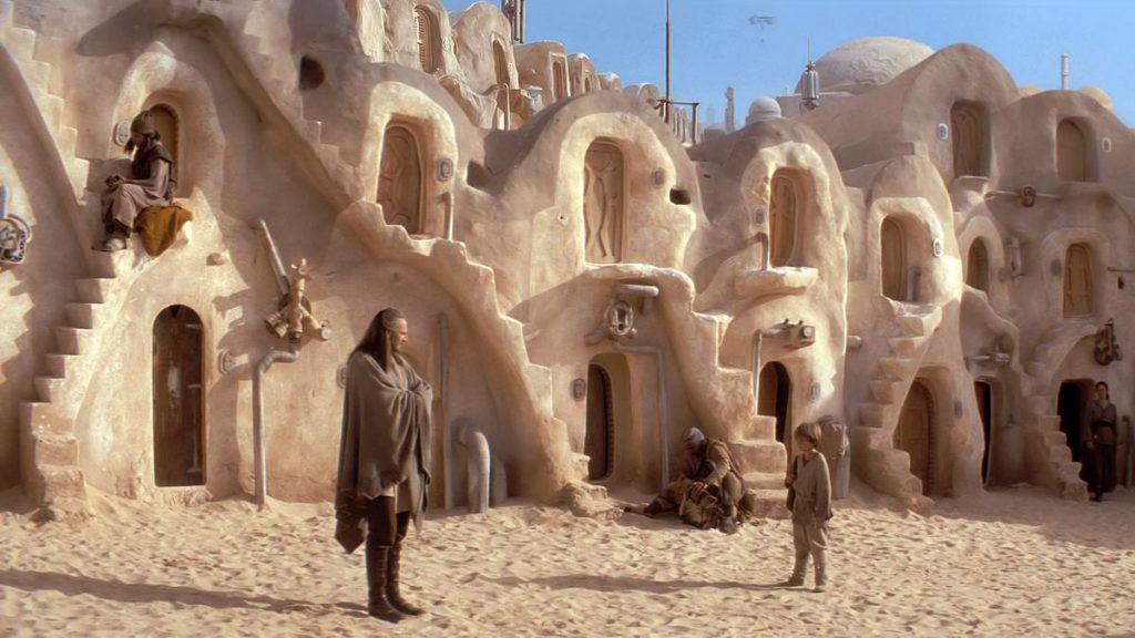Где снимали Звёздные войны