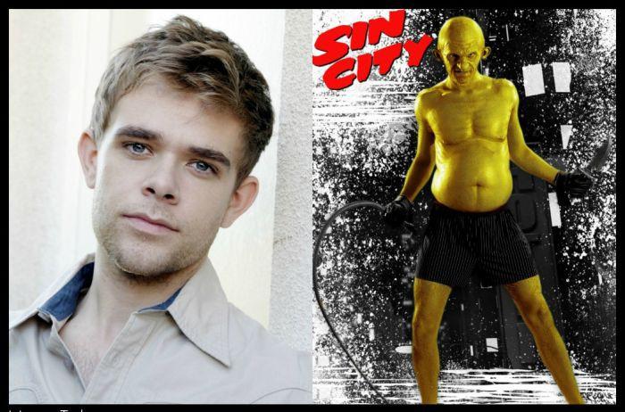 Ник Стал в роли Желтого ублюдка