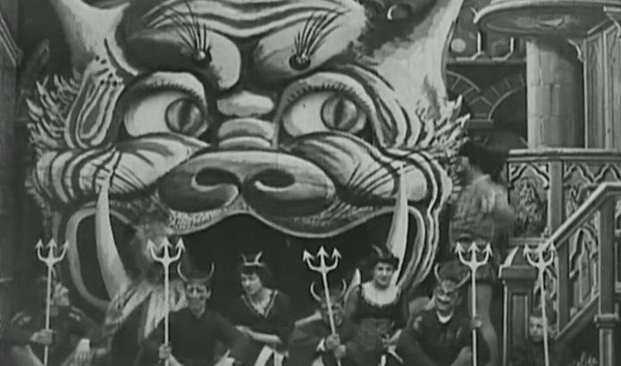 Съёмки фильма «Дьявол в монастыре»