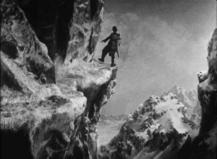 Спецэффект из картины «Золотая лихорадка»
