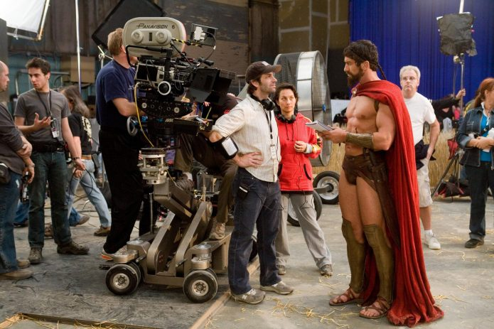 Во время съёмок фильма «300 спартанцев»