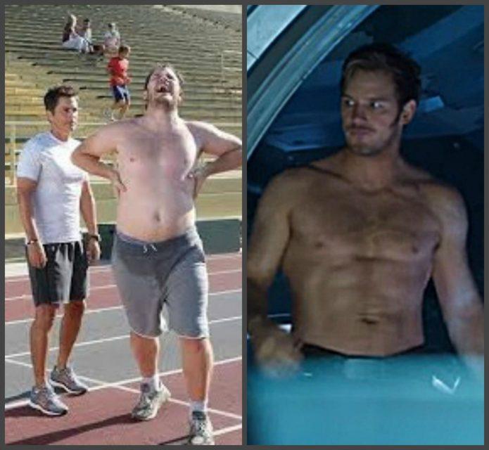 крис прэтт до и после похудения фото