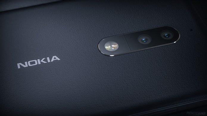 Nokia 9 с экранным сканером отпечатков пальцев и выдвижной камерой
