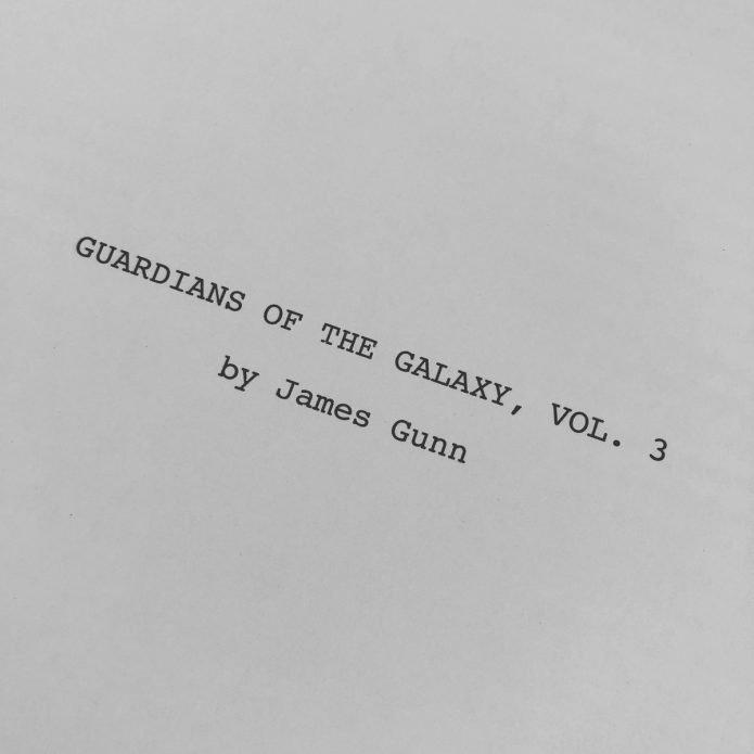 Сценарий «Стражи Галактики 3»