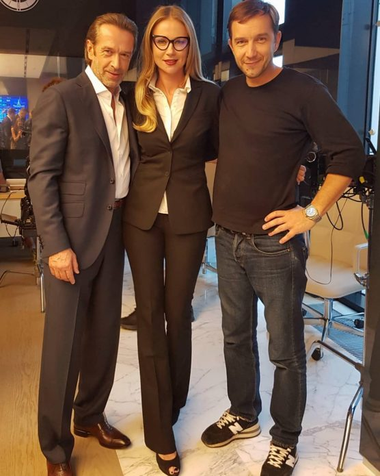 Мария Миронова снимется с Владимиром Машковым в комедийном боевике «Миллиард»