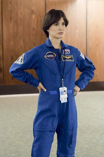 Натали Портман. Фото со съемочной площадки фильма «Бледная синяя точка»