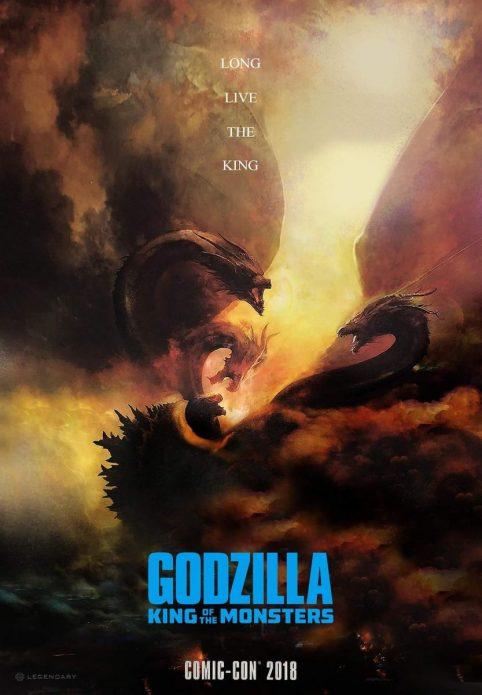 Новый постер блокбастера «Годзилла: Король монстров»