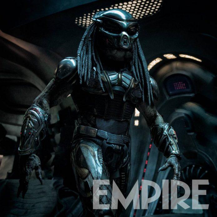 Устрашающий Хищник в броне на новых кадрах из фильма The Predator Шейна Блэка