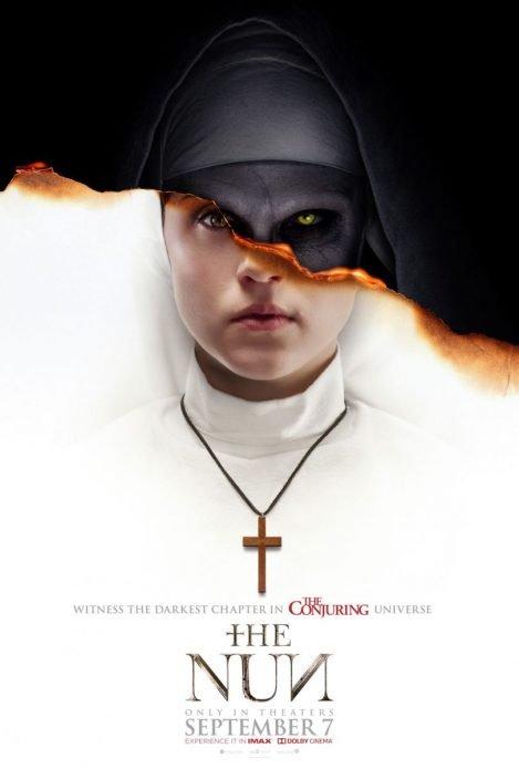 В Сеть попал первый постер фильма ужасов «Проклятие монахини»