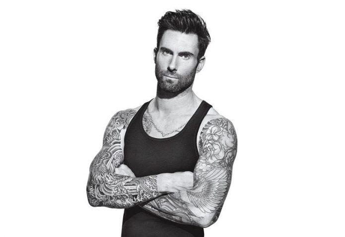 Татуировки Адама Левина из Maroon 5