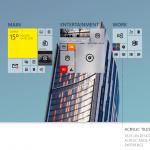 Концепт рабочего стола Windows 10