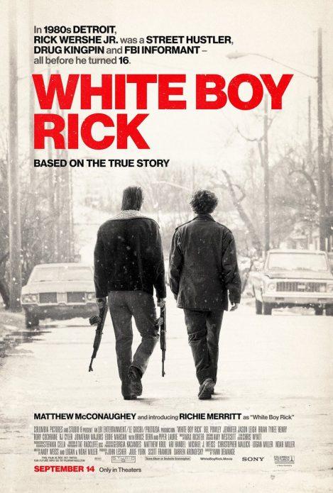 Первый постер «Белый парень Рик»