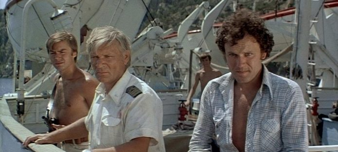 Кадр из фильма «Пираты XX века»