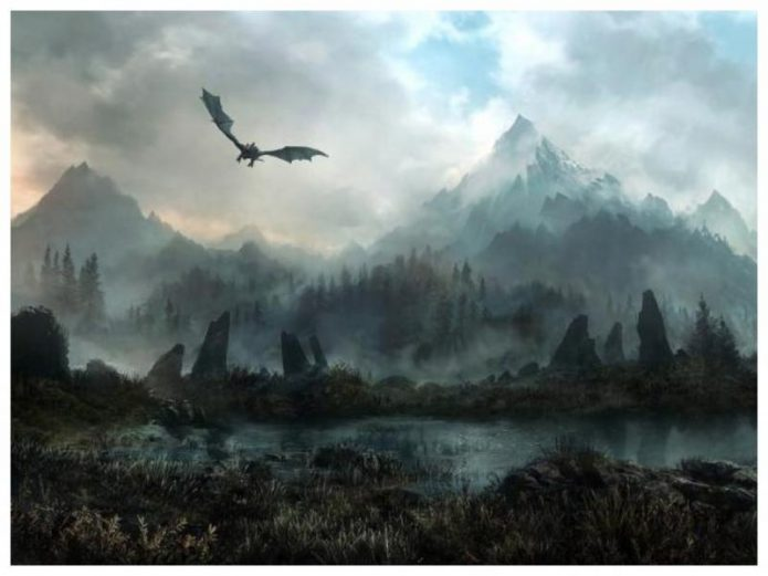 Skyrim 3D Trees and Plants