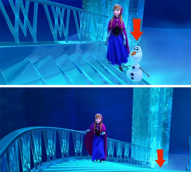 Кадр из мультфильма «Холодное сердце»