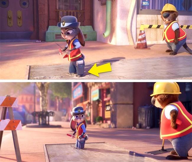 Кадр из мультфильма «Зверополис»