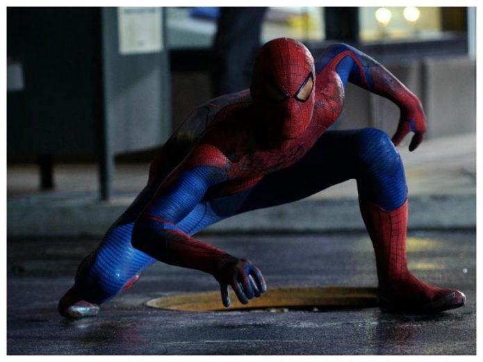Человек-Паук показал новый костюм на съёмках Вдали от дома