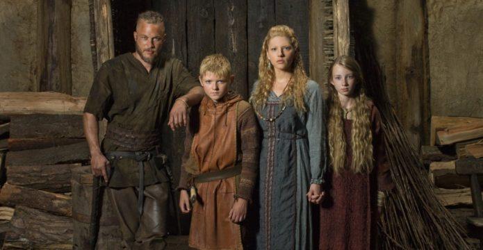 Рагнар, Лагерта и их дети