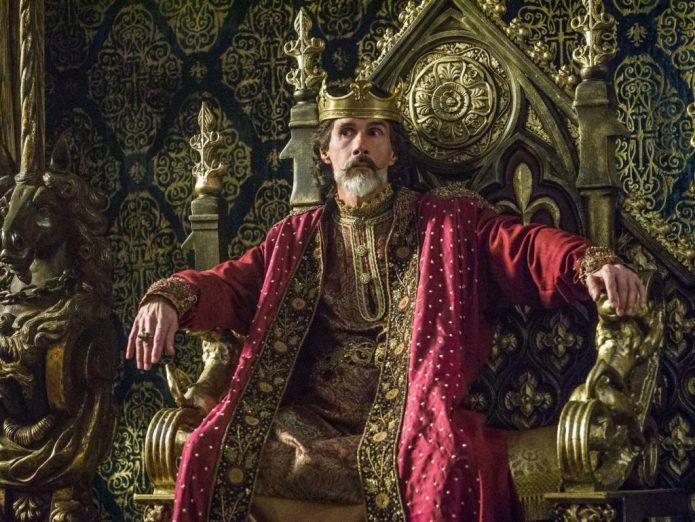 Император Карл из сериала Викинги