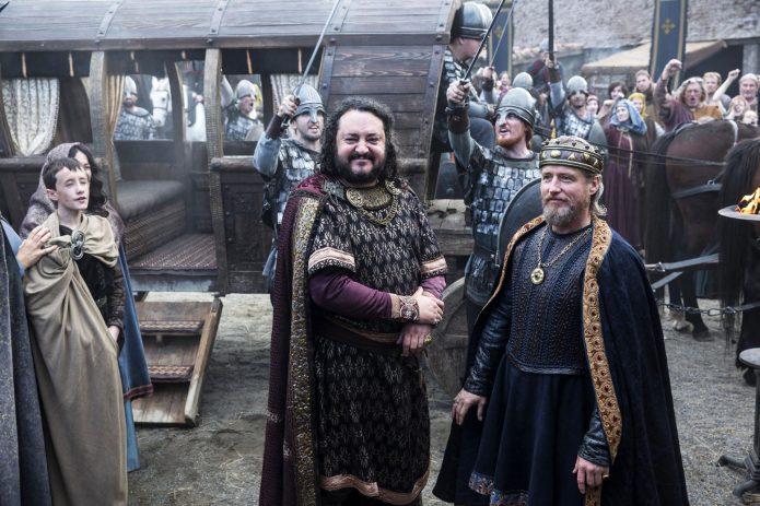 Короли Элла и Эгберт в сериале Викинги