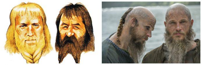 Мужские причёски викингов