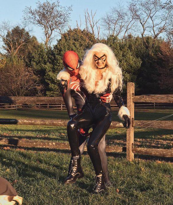 лучшие парные звездные образы на хэллоуин