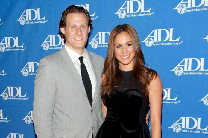 Меган Маркл  с мужем