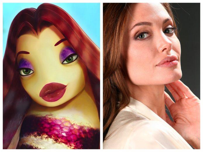 Лола и Анджелина Джоли