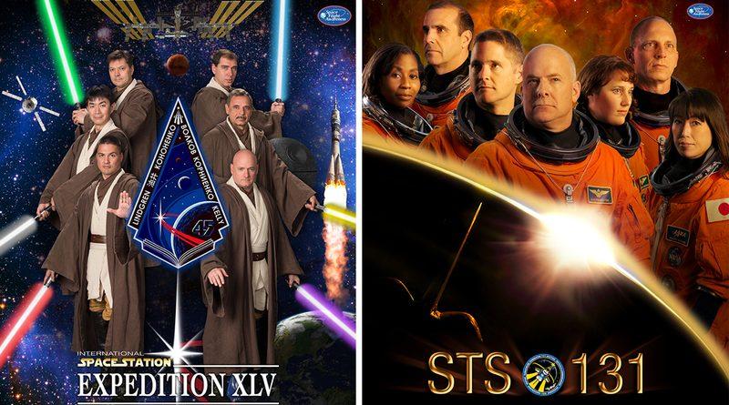 NASA создаёт постеры к своим экспедициям, пародируя афиши фильмов