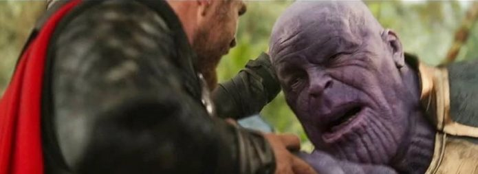 «Мстители: война бесконечности» после спецэффектов
