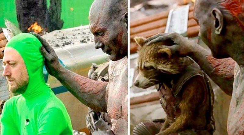 Как выглядели известные фильмы до и после спецэффектов