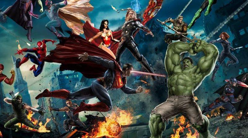 Битва титанов: DC vs Marvel