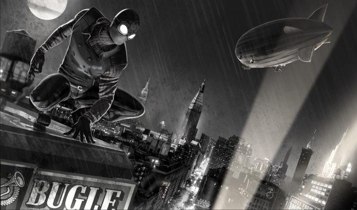 Нуарный Человек-паук