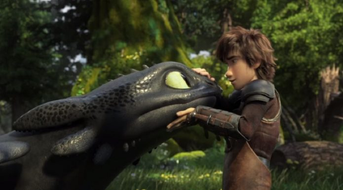 как приручить дракона 4