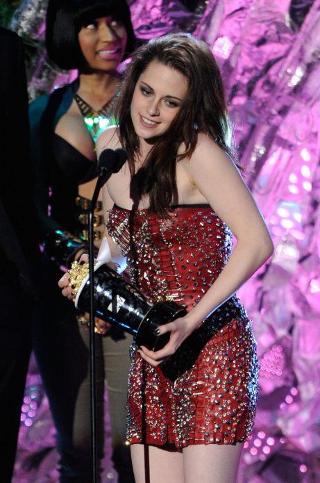 Кристен на вручении MTV Movie Awards