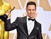 Сэм Рокуэлл на вручении Оскара