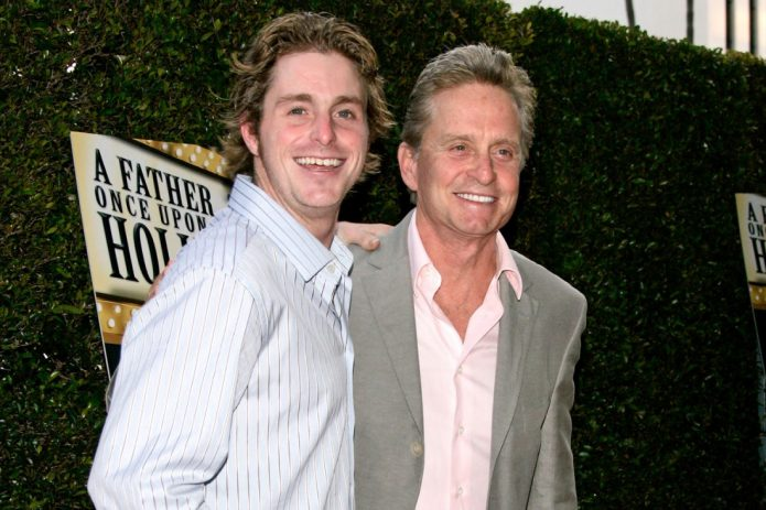 Майкл Дуглас с сыном