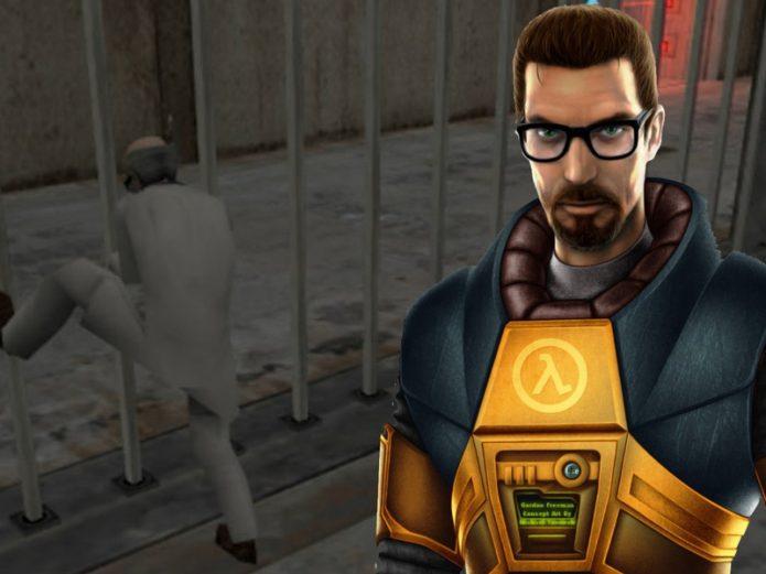 Mr. Freeman Half-Life 1