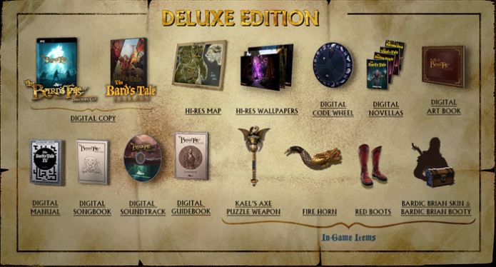 Bard's Tale IV PC Deluxe Edition
