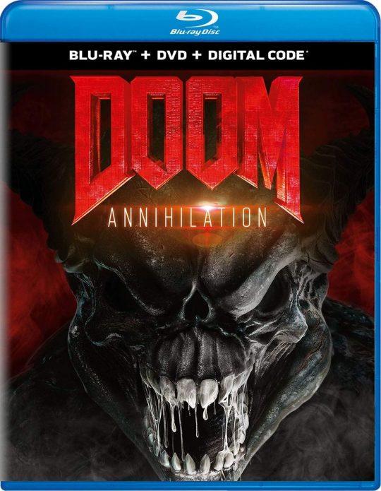 Doom: Annihilation Blu-Ray Cover