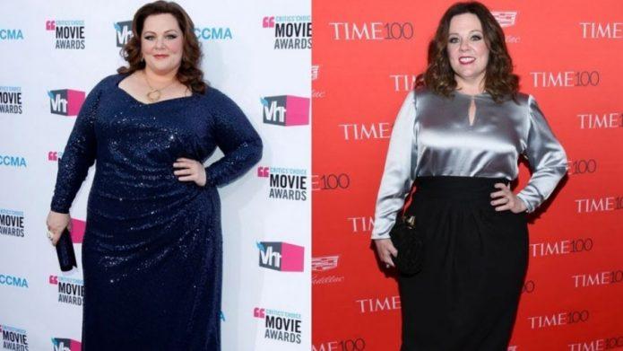 Мелисса Маккарти до и после похудения