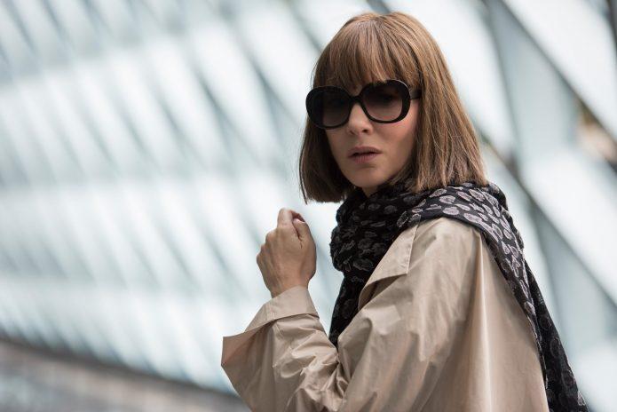 Кейт Бланшетт в тёмных очках